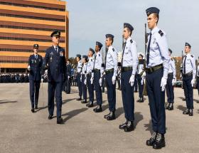 Cerimónia Militar de Despedida do CEMFA General Manuel Teixeira Rolo
