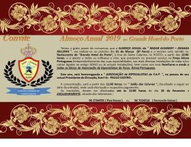 """A. E. F. A. Comendador Honorário da """"Radar Academy – Zanaga Fellows"""""""