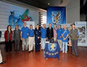 A. E. F. A. envolvida no 67º aniversário da Força Aérea