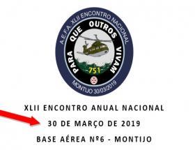 XLII Encontro Anual Nacional - 30 de Março de 2019 - BA6 Montijo