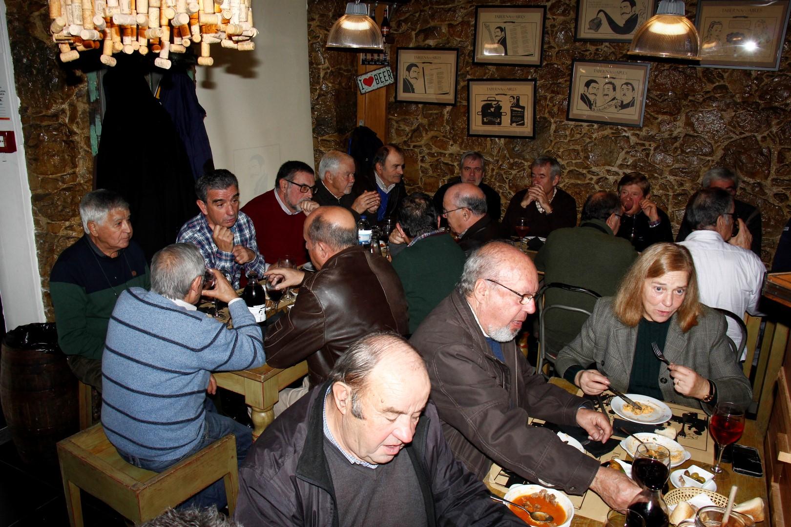 Almoço de Natal do Núcleo de Coimbra da AEFA