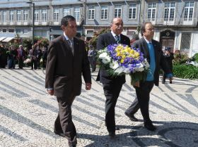 Núcleo do Porto presente no Dia do Combatente na Invicta