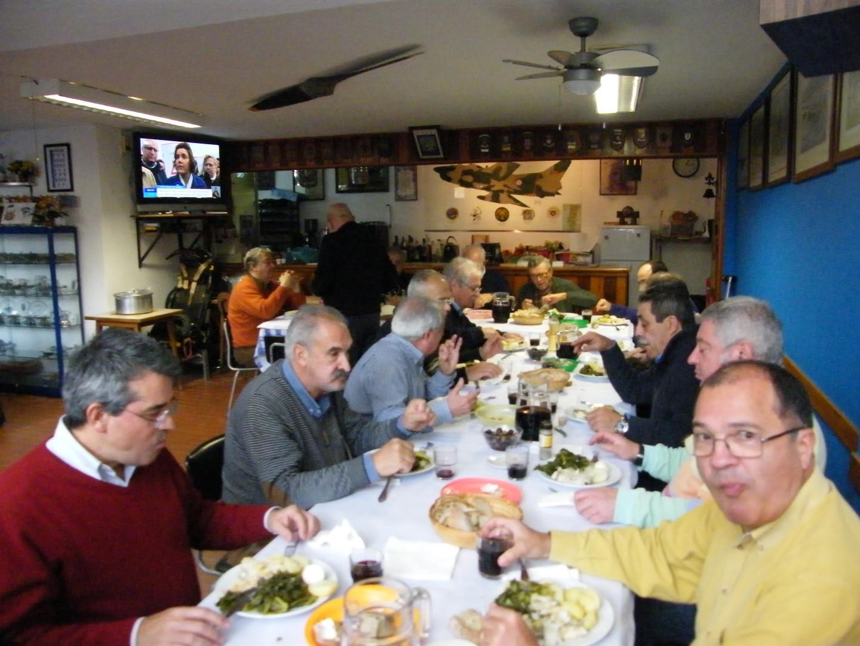 Almoço de Natal no Núcleo de Setúbal da AEFA