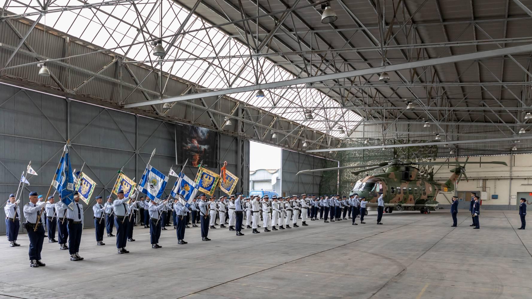 Núcleo de Setúbal da AEFA no 66º Aniversário da Base Aérea Nº6